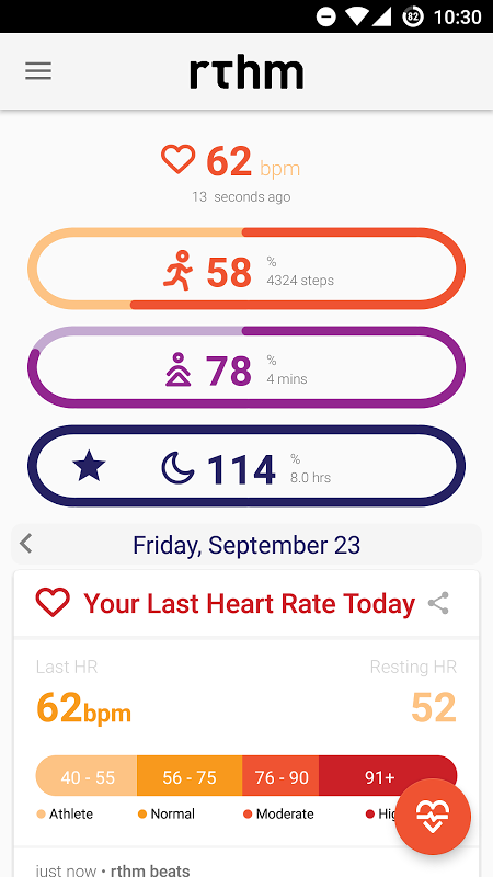 rthm wellness app
