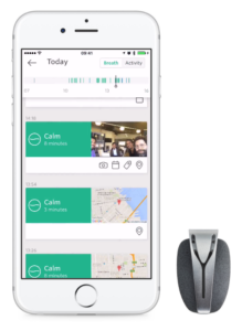 spire mindfulness app biosensor