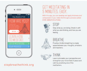 stop breathe think meditation app
