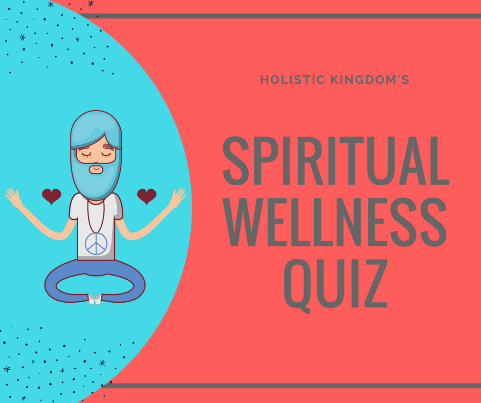 spiritual wellness quiz graphic