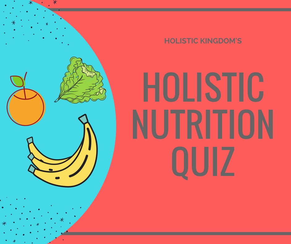 holistic nutrition quiz graphic