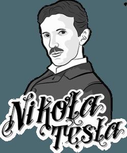 nikola tesla digital image
