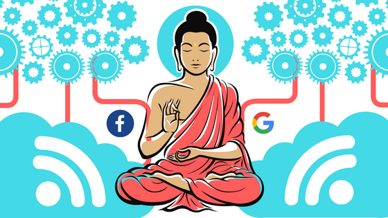 technology meditator spirituality