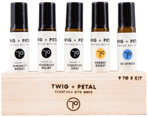 twig and petal essential oils and diffusers
