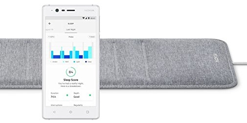 withings nokia sleep tracking pad