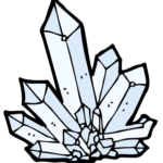 crystal healing icon