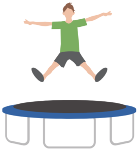 mini trampoline icon
