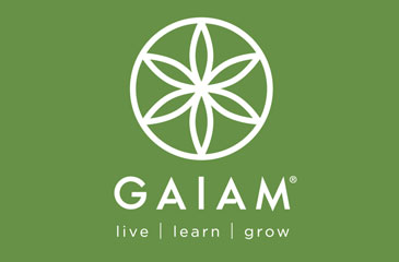 gaiam yoga logo image