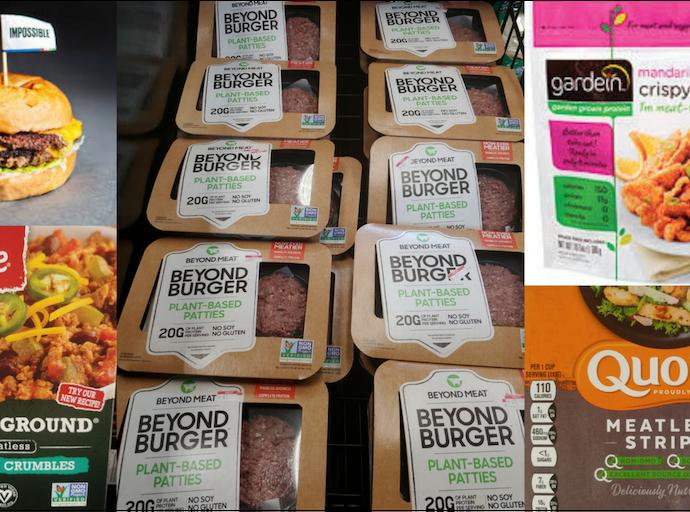 plant-based meat alternatives
