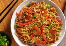 gardein mandarin orange asian noodles