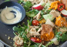 goodcatch fishfree tuna quinoa salad