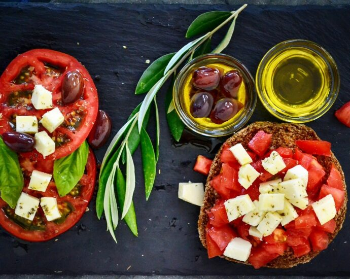mediterranean plant based diet meal