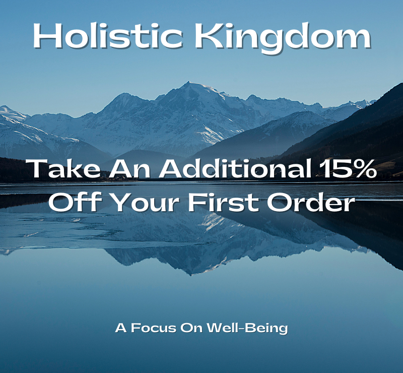 holistic kingdom discount code graphic for winter