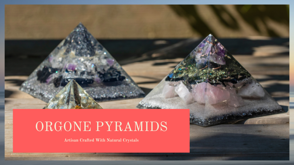 orgonite pyramids category image